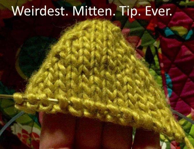Mistake mitten